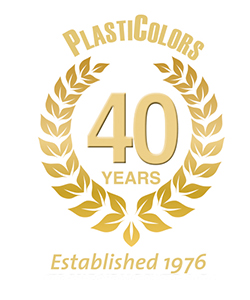 Plasticolors - 35 years, established 1976